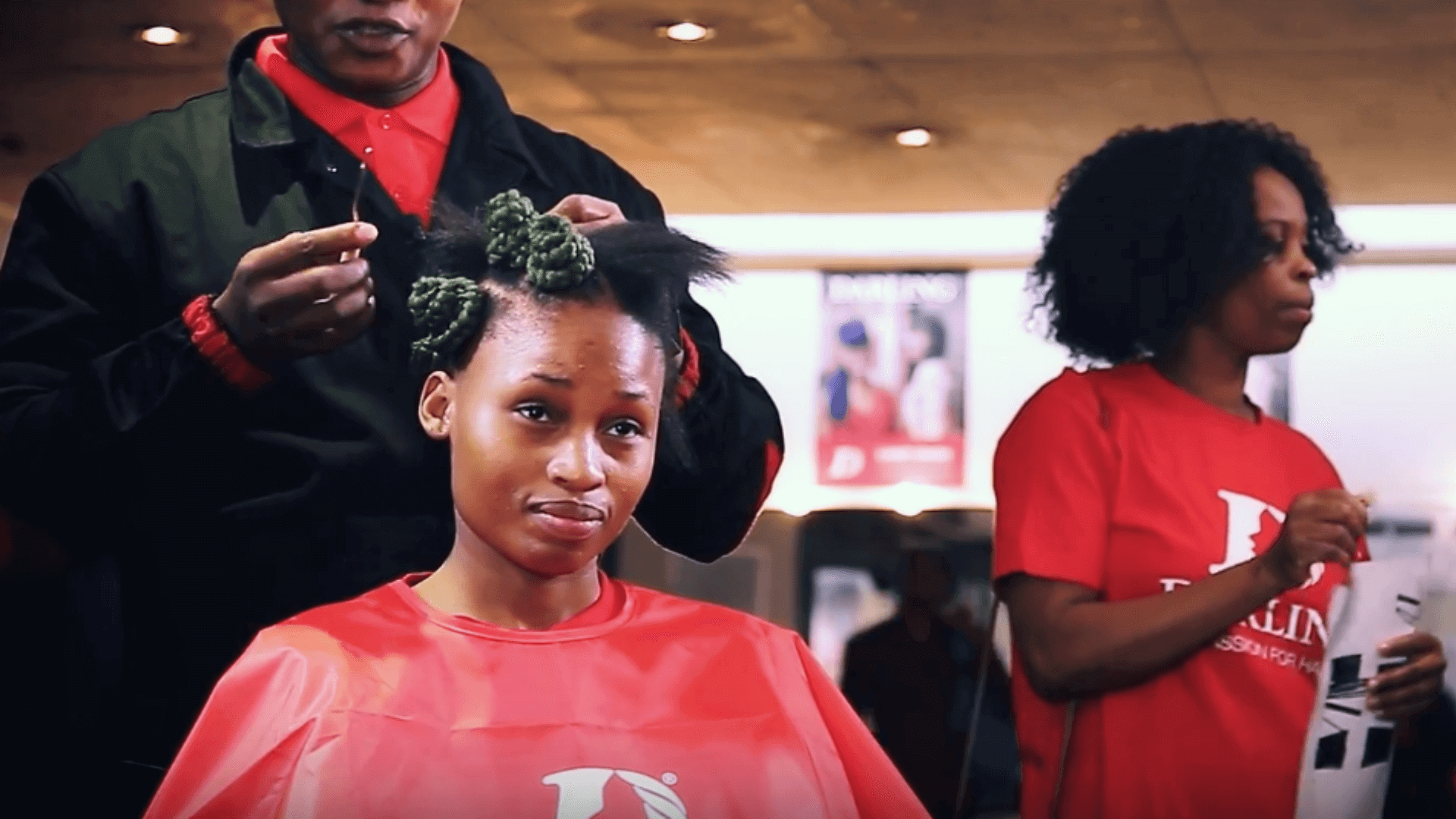 How To: Bantu Knots Using Yaki Braids
