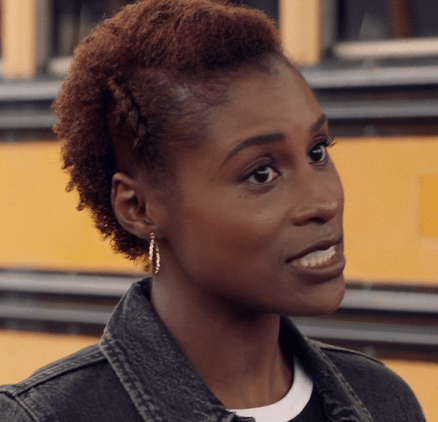 issa rae twisted braid hairstyle