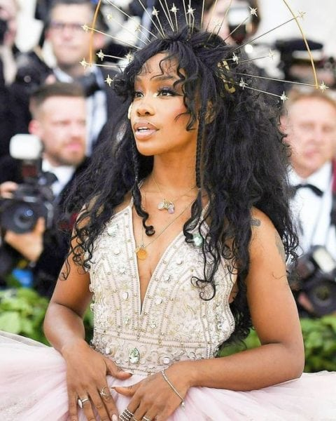 Sza hair - met gala look