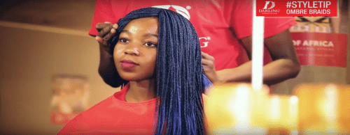 How to: Rock Ombre Braids with Darling